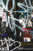 Nyc Graffiti Prints - Graffiti  Print by Chuck Kuhn
