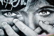 Spray Paintings - Graffiti Eyes by Yurix Sardinelly