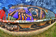 Boxcar Prints - Graffiti Genius 1 Print by Bob Christopher