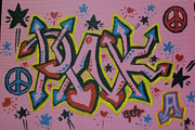 Pink A - Graffiti