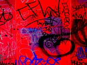 Street Art Prints - Graffiti Wall 2 Print by Randall Weidner