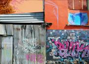 Roz Mcquillan Art - Graffiti Wall Melbourne by Roz McQuillan
