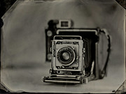 Tintype Prints - Graflex Print by Chris Morgan