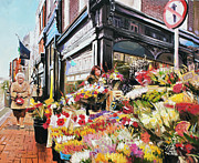 Conor McGuire - Grafton Street Flowers