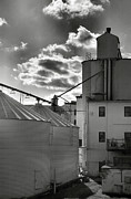 Business Greeting Cards Art - Grain Mill I by Steven Ainsworth
