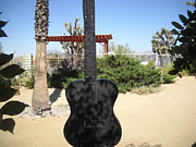 Art In Public Places Sculptures - Gram Parsons Memorial by Jane Williams