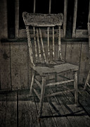 Street Photographer Photographs Prints - Gramas Chair Print by Jerry Cordeiro