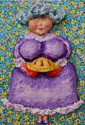 Family Reliefs - Grammas Cherry Pie by Alison  Galvan