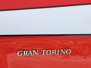 Car Insignia Framed Prints - Gran Torino Framed Print by Tony Grider
