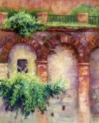 Spain Pastels - Granada Arches by Candy Mayer