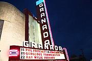 Debbi Granruth Metal Prints - Granada Theater Metal Print by Debbi Granruth