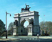 Crosswalk Photos - Grand Army Plaza-Brooklyn-NY by Anne Ferguson