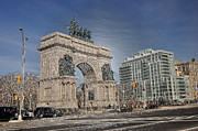 Gap Prints - Grand Army Plaza Print by Mark Gilman