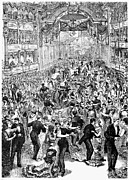 Grand Ball, New York, 1877 Print by Granger