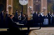 Ballroom Painting Originals - Grand Ballroom by Jim Horton