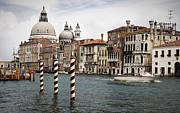 Baldassare Longhena Framed Prints - Grand Canal Framed Print by Greg Stechishin