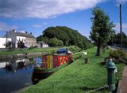 Co Canal Framed Prints - Grand Canal, Sallins, Co Kildare Framed Print by The Irish Image Collection