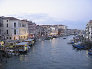 Serenisim Prints - Grand canal. Venice Print by Bernard Jaubert