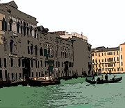 Sienna Italy Digital Art - Grand Canal Venice III by Mindy Newman
