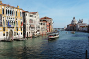 Dorsoduro Prints - Grand Canal View at the Academy Bridge Print by George Oze
