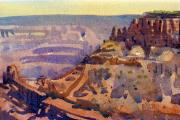 Canyon Paintings - Grand Canyon 77 by Donald Maier