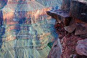 Abyss Acrylic Prints - Grand Canyon A Place To Stand Acrylic Print by Bob Christopher