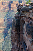 Colorado Travel Prints - Grand Canyon Close Enough Print by Bob Christopher