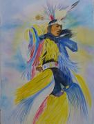 Wow Pastels Posters - Grand Canyon Dancer Poster by Vivian Larson