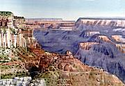 Canyon Paintings - Grand Canyon Morning by Donald Maier