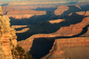 Amazing Sunset Prints - Grand Canyon Morning Glow Print by Pierre Leclerc