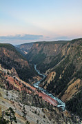 Geography Prints - Grand Canyon Of Yellowstone Print by Cindy Chou Photography