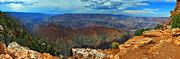 Grand Canyon Panoramic View Print by Gene Sherrill