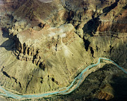 River Framed Prints Prints - Grand Canyon River Print by M K  Miller