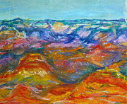 National Park Pastels - Grand Canyon Suite by Linda S Watson