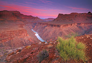 Famous Place Framed Prints - Grand Canyon Sunrise Framed Print by David Kiene