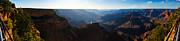Grand Canyon Sunset Panorama Print by David Waldo