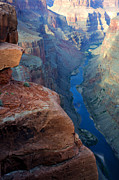 Abyss Acrylic Prints - Grand Canyon Toroweap Acrylic Print by Bob Christopher
