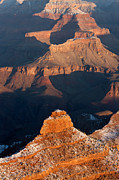 Wintertime Prints - Grand Canyon Yaki Point Print by Clarence Holmes