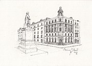 Grand Central Bar Dublin Print by Eamon Gilbert