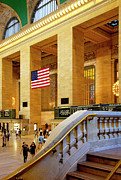 Commuters Photos - Grand Central by Brian Jannsen