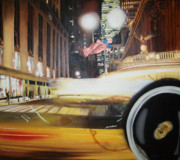 Hyperrealism Prints - Grand central Print by Gonzalo Salazar