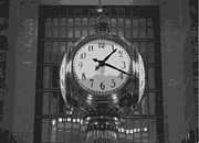 Nyc Digital Art Metal Prints - Grand Central Station BW10 Metal Print by Scott Kelley