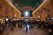 Busy Photo Originals - Grand Central Station by Peter Luxem