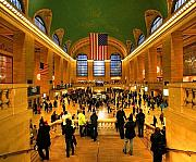 Svetlana Sewell Framed Prints - Grand Central Framed Print by Svetlana Sewell