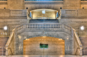 Terminal Prints - Grand Central Terminal East Balcony I Print by Clarence Holmes