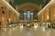 New York Photo Framed Prints - Grand Central Terminal I Framed Print by Clarence Holmes