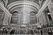 Concourse Photo Framed Prints - Grand Central Terminal Station Framed Print by Susan Candelario