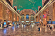 Railway Terminal Framed Prints - Grand Central Terminal V Framed Print by Clarence Holmes