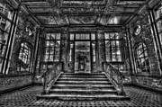 Ruinous Prints - Grand entrance Print by Nathan Wright