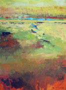 Representational Landscape Prints - Grand Expanse 2 Print by Melody Cleary